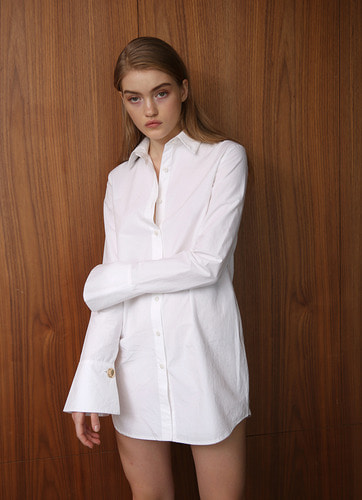 ANNA COTTON-POPLIN SHIRT