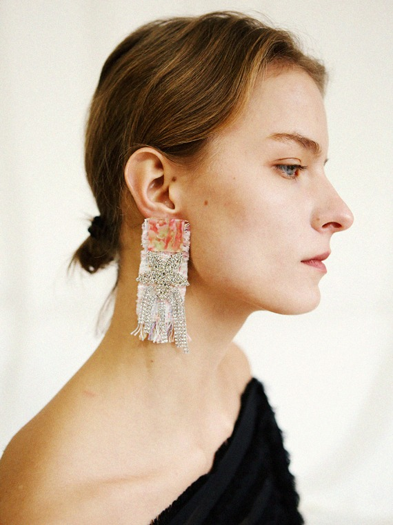[SEASON4] ROSEY MARBLE DROP EARRINGS