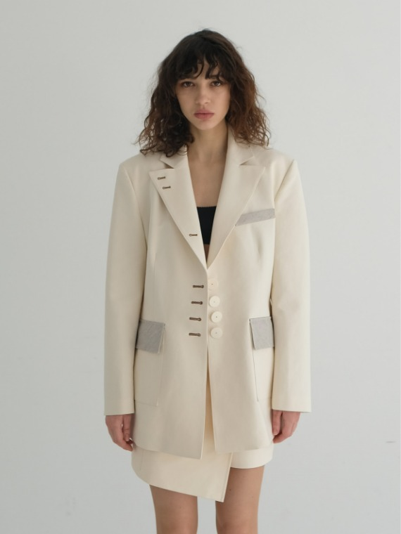 JAY OVERSIZED JACKET_CREAM