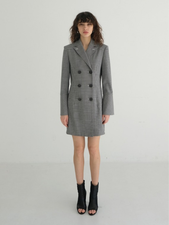 REESE DOUBLE JACKET DRESS_CHECK
