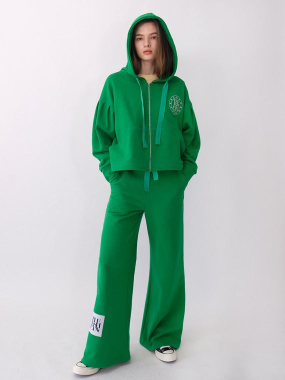 DREAM HOODIE TRAINING SET_GREEN
