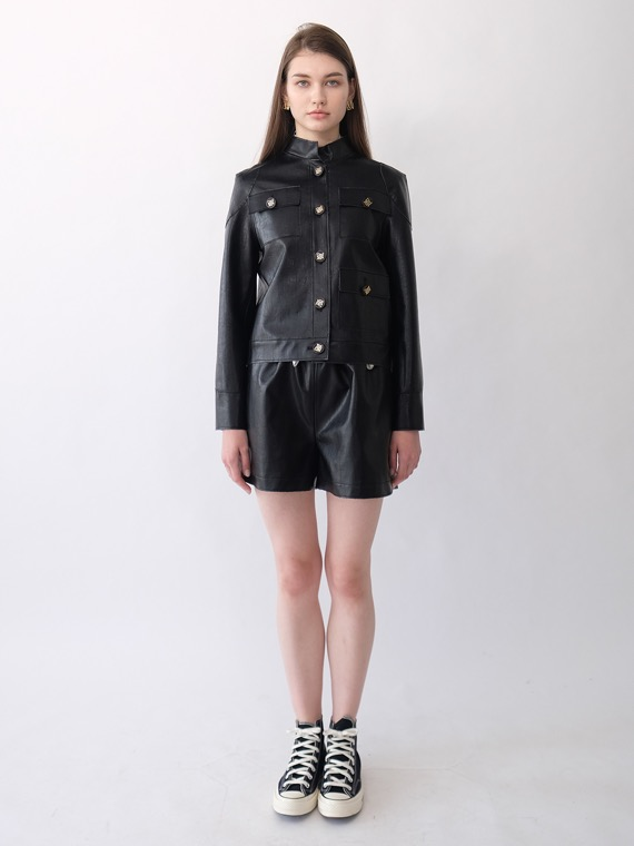 BETH SPORTY SHORTS_BLACK