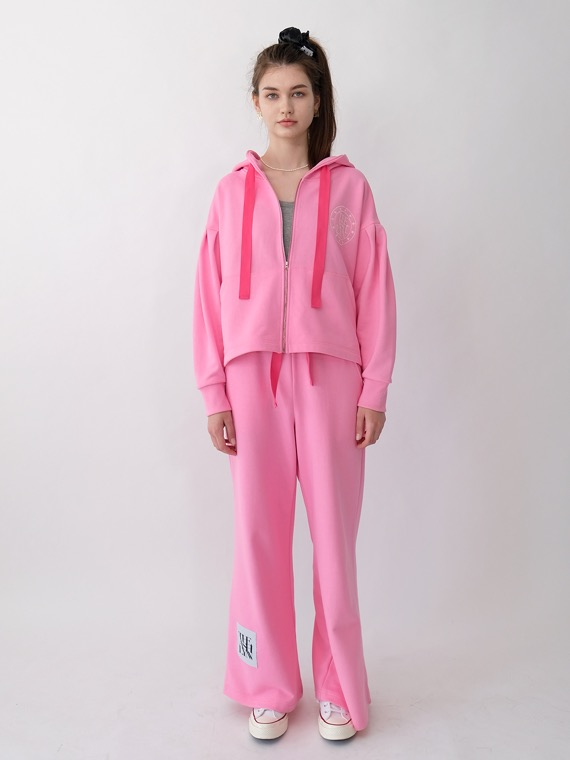 DREAM HOODIE TRAINING SET_PINK