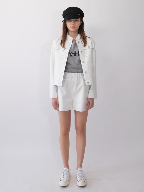 BETH SPORTY SHORTS_WHITE