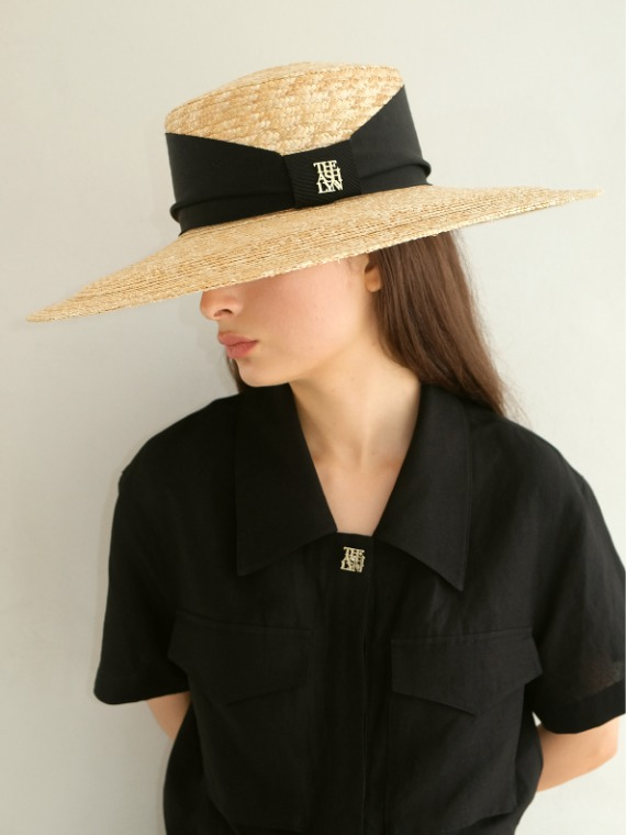 LARGE SUMMER STRAW HAT (3 COLORS)