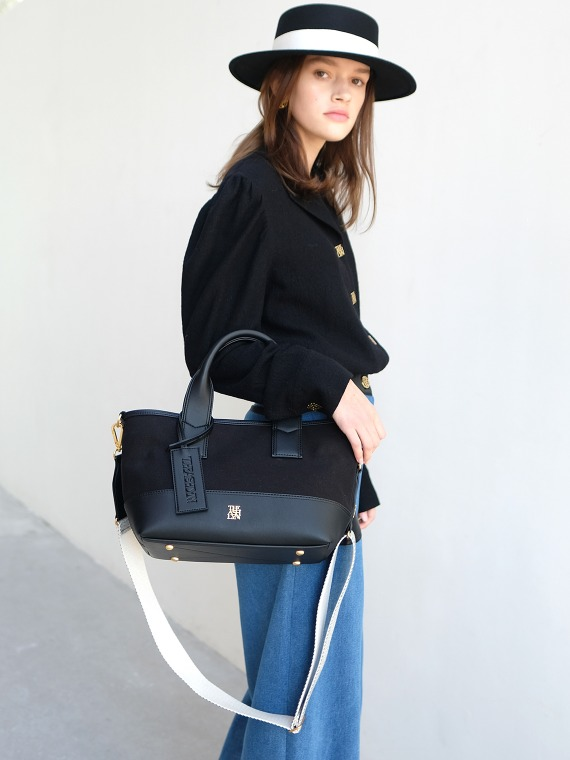 MADDISON TOTE BAG MEDIUM_BLACK