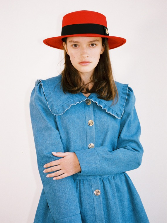 ALICE PETERPAN BLOUSE JACKET_DENIM