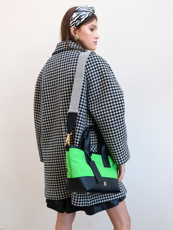 MADDISON TOTE BAG MEDIUM_NEON GREEN